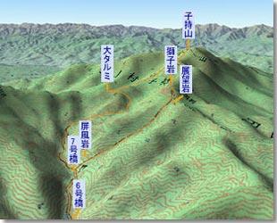 子持山~獅子岩がそびえる古い火山の山~-あの頂を越えて